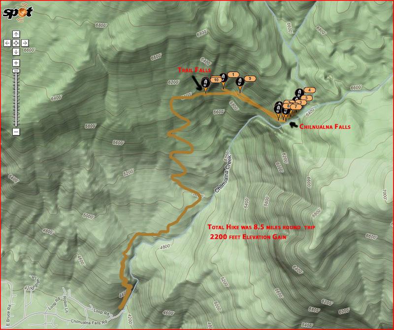Yosemite's Chilnualna Falls Trail