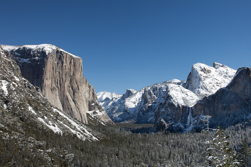Yosemite National Park Iconic View
