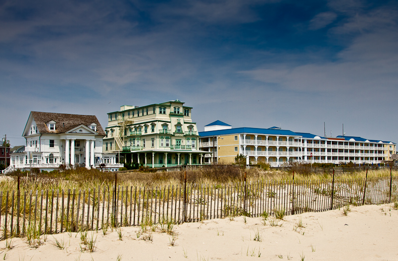 Beach Cottages in Cape May New Jersey