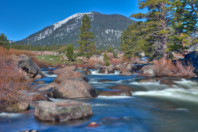 The Snow Melt is just begnning in the Sierra Neveda