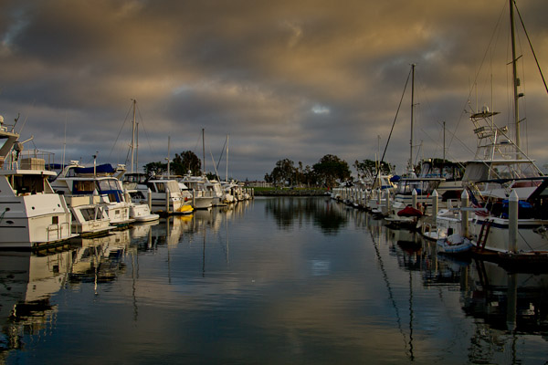 San Diego Harbor Twilight