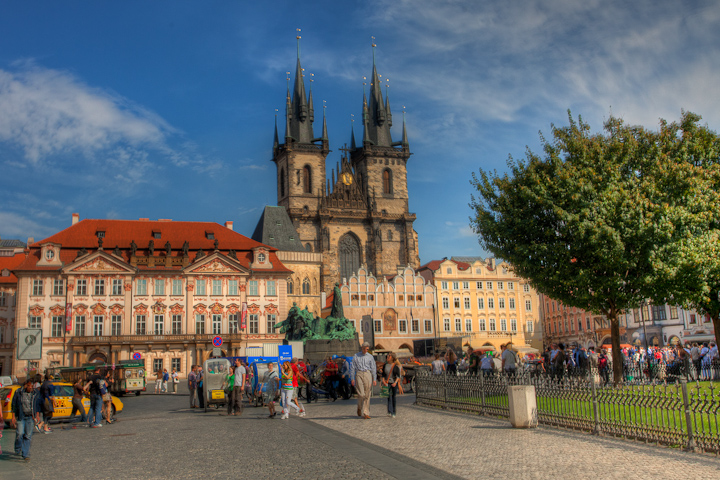 St Stephan's Cathedral in Prague