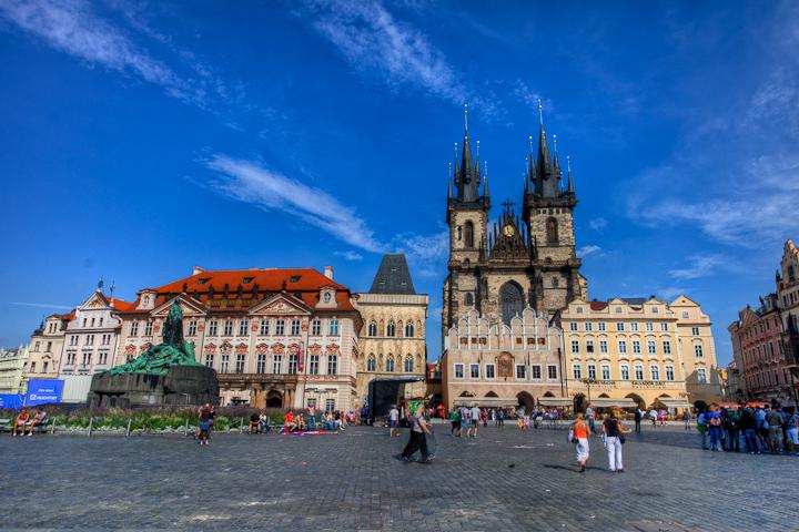 Prague Central Square