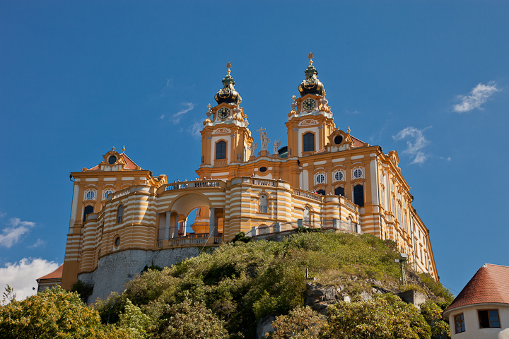 Stift Melt Castle, Overlooking the Danube River