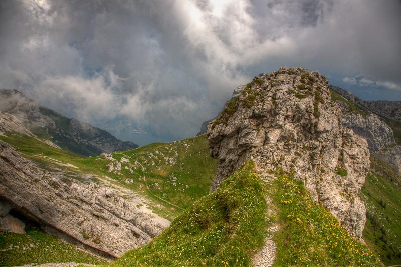 The Valley below Mt Pilatus