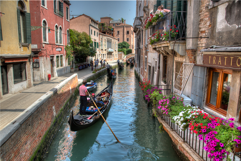 Romantic Ride through the Canals of Venice