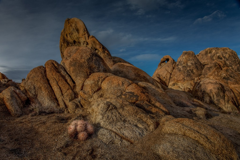 Golden Glow of the Alabama Hills