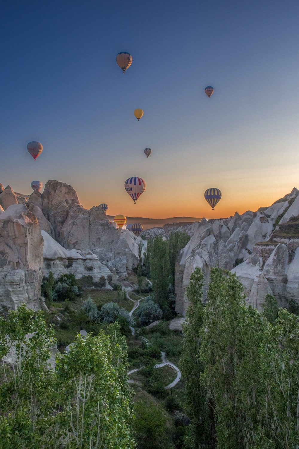Cappadocia Cruising the Canyon