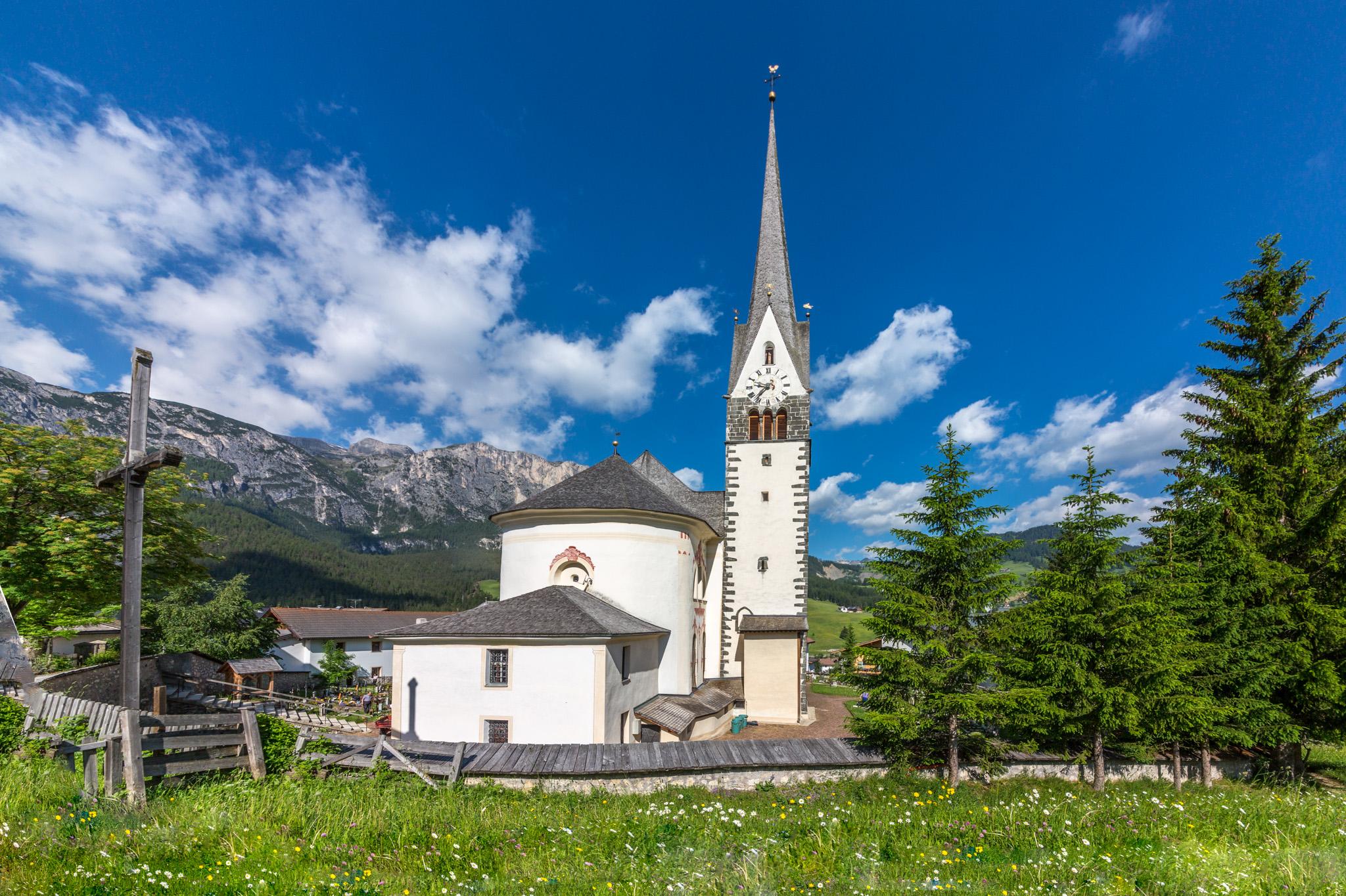 Church in St Leonhard