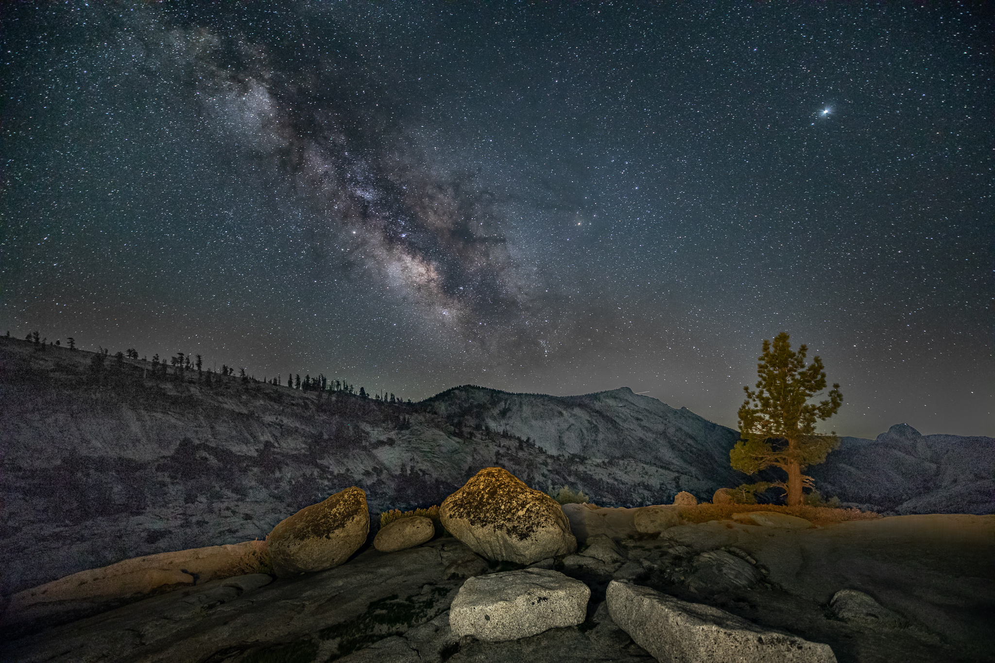 Milky Way From Olmstead Point