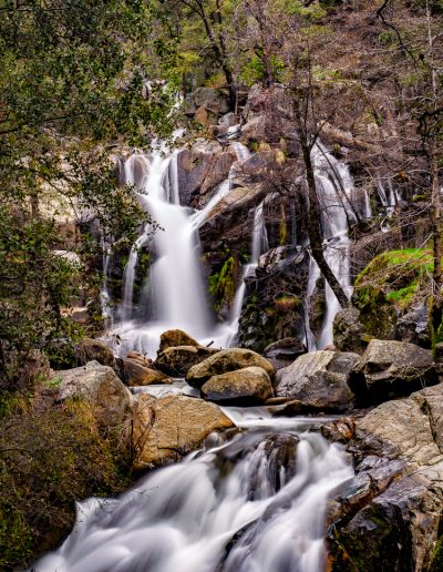 Corlieu Falls on Lewis Creek
