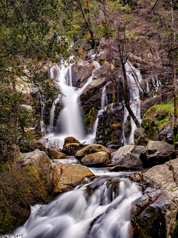 Corlieu Falls on Lewis Creek