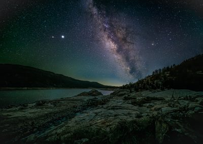 Milky Way over Wishon