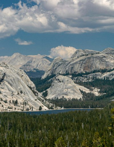 Tenaya Lake Surrounded by Granite domes