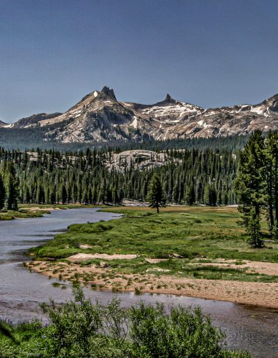 Tuolumne River and Meadow below Cathedral Peak